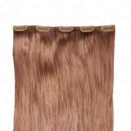 Clip-in-Extensions für Haarverlängerung mit 5 Clips, 60cm lang