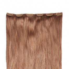 Clip in Extensions für Haarverlängerung mit 6 Clips, 40cm lang, Echthaar