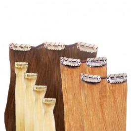 clip extensions set gr s in 60cm echthaar zur. Black Bedroom Furniture Sets. Home Design Ideas