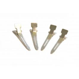 4 Metallclips zum Befestigen von Schutzschablonen