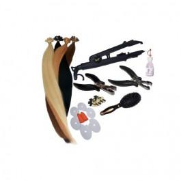 Starterset für Haarverlängerung | Haarverdichtung Komplettpaket