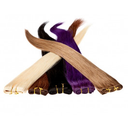 Echthaar Tresse á 25g Länge: 60cm zur Haarverlängerung | Haarverdichtung