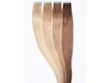 10 Tape Extensions aus Echthaar in 50 cm Haarlänge