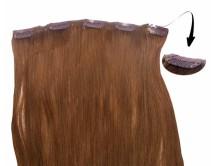 Clip-in-Extensions für Haarverlängerung mit 5 Clips, 40cm lang
