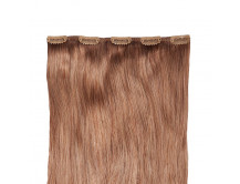Clip-in-Extensions zur Haarverlängerung mit 5 Clips, 50cm lang