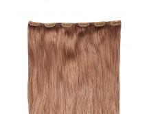 Clip-in-Extensions für Haarverlängerung mit 6 Clips, 60cm lang