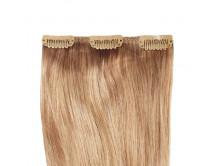 Clip-in Extensions für Haarverlängerung mit 3 Clips, 50cm lang