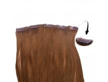 Clip-in-Extensions für Haarverlängerung mit 5 Clips, 50cm lang