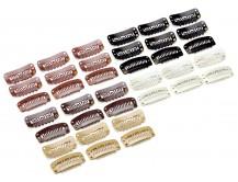 10 Tressen-Clips für Haarverlängerung und Perücken