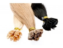 Haarverlängerung Extensions Echthaar 50 cm schweißen