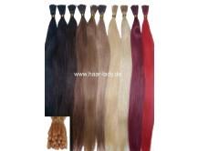 Echthaar Extensions 10 Stück 50cm Haarverlängerung