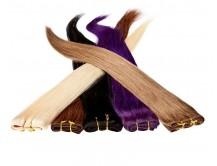 Echthaar Tresse á 25g Länge: 50cm zur Haarverlängerung | Haarverdichtung