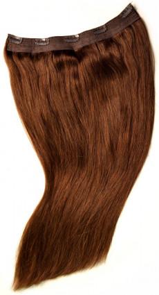 Spezial Clip in Extensions mit XXL Fülle aus Echthaar, 50 cm Haarlänge