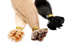 Tempelhaar Extensions 60cm, zur Haarverlängerung, Haarverdichtung mit Echthaar